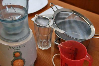Küchengeräte helfen uns beim genussvollen und auch gesundem Kochen!