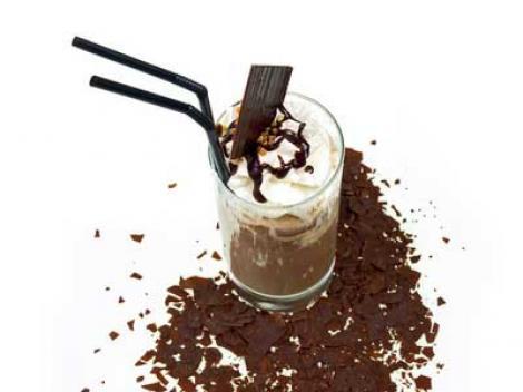 Rezept für leckeren Eiskaffee.